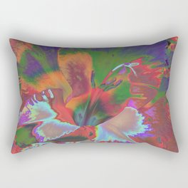 Extreme Gladiolus Rectangular Pillow