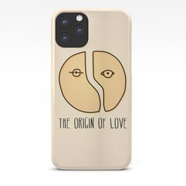 The Origin Of Love iPhone Case
