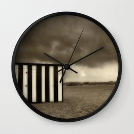 Great Yarmouth Beach Hut Wall Clock