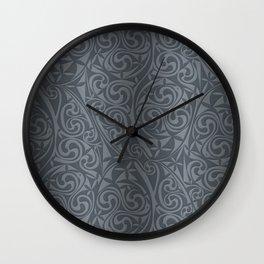 Celtic Warlord steel Wall Clock