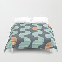 chelsea Duvet Covers featuring Chelsea by Heather Dutton