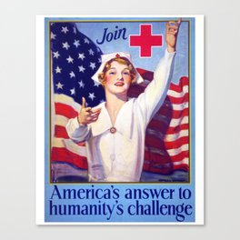 Americas Answer, nurses week 2020, gifts for nurses, nurses week, nurse retirement gifts, cna gifts Canvas Print
