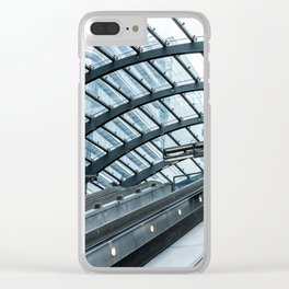 Alone In The City Clear iPhone Case