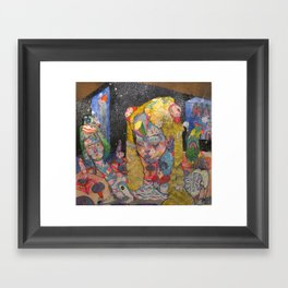 6am Framed Art Print