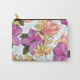 the magnolia Carry-All Pouch