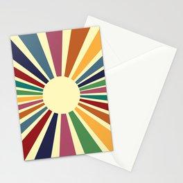 Sun Retro Art II Stationery Cards