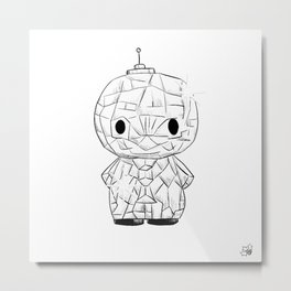 March of Robots: Day 7 Metal Print