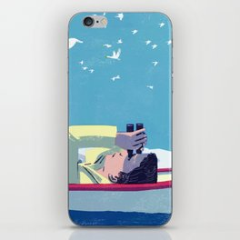What Do the Birders Know? iPhone Skin