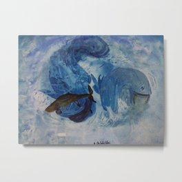 Spielende Fische Metal Print