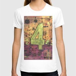 Journey by Number: 4 Repeated T-shirt