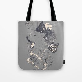 Northern Americana  Tote Bag