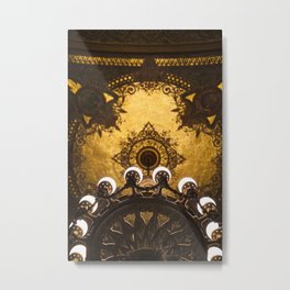Palais Garnier  -  Paris Opera House I Metal Print