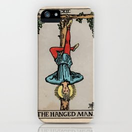 12 - 	The Hanged Man iPhone Case