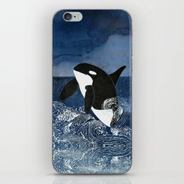 Killer Whale Orca iPhone Skin