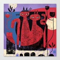 CAT ARRANGEMENT Canvas Print