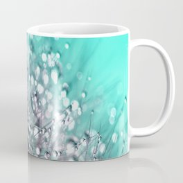Dandelion Blue Diamonds Coffee Mug