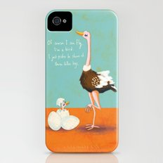 Confident Ostrich Slim Case iPhone (4, 4s)