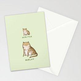 Ocelittle Ocelot Stationery Cards