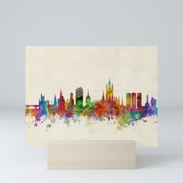 Aberdeen Scotland Skyline Mini Art Print