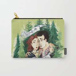 Twin Peaks James and Donna Carry-All Pouch