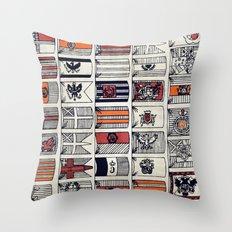 Regatta Throw Pillow