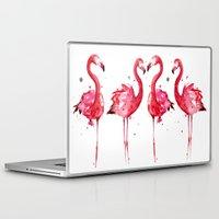 flamingo Laptop & iPad Skins featuring Flamingo by Sam Nagel