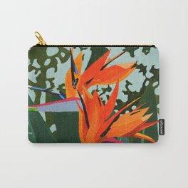 Strelitzia - Bird of Paradise Carry-All Pouch