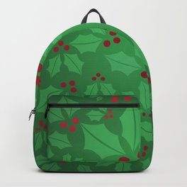 Holly Jolly Christmas Backpack