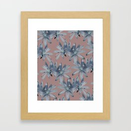 MATUCANA IN COPPER ROSE Framed Art Print