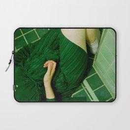 green bathroom (tara) Laptop Sleeve