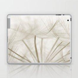 Dandelion Neutral Closeup Laptop & iPad Skin