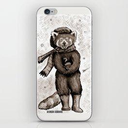 Pumpkin the Red Panda iPhone Skin