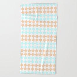 Little Diamonds Beach Towel