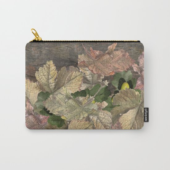 Acorns in Autumn Carry-All Pouch
