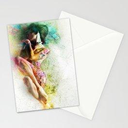 Self-Loving Embrace Stationery Cards