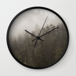 Forest I Wall Clock