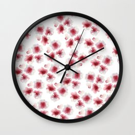 Ethereal blood Wall Clock