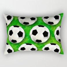 Soccer Ball Football Pattern Rectangular Pillow