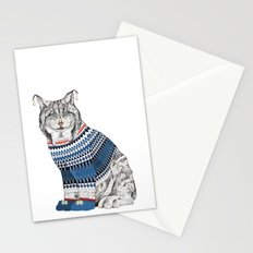 Christmas Lynx // Festive Furries No.1 Stationery Cards
