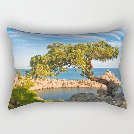 black sea coast Rectangular Pillow