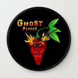 Ghost Pepper. Wall Clock