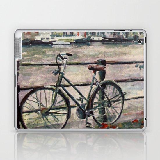 Going Dutch (blue) Laptop & iPad Skin