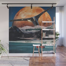 Red Boat Wall Mural