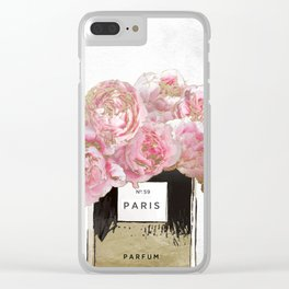 Pink Scented Clear iPhone Case