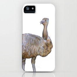 Amused Emu iPhone Case