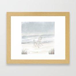 Summer's End • Goose Rocks Beach (Kennebunkport) Framed Art Print