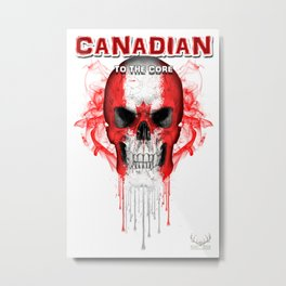 To The Core Collection: Canada Metal Print