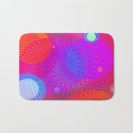 Re-Created Twisters No. 6 by Robert S. Lee Bath Mat