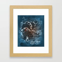 Marsh Madness  Framed Art Print