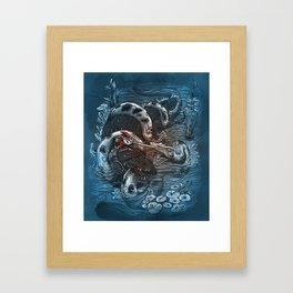 Marsh Madness  Framed Art Print